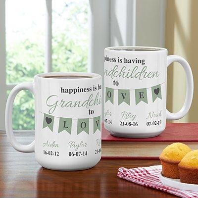 A Grandparents Love Mug