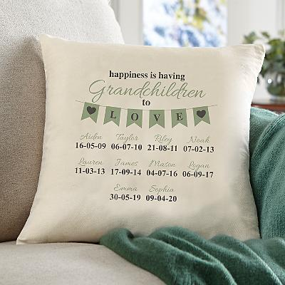 A Grandparents Love Cushion