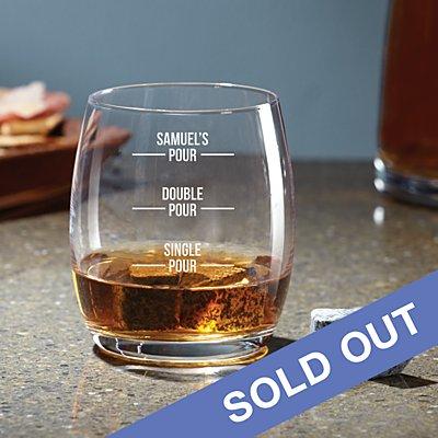 Perfect Pour Whisky Glass Stone Set