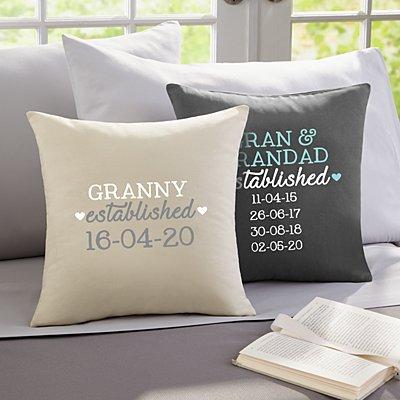 We Became Grandparents Sofa Cushion