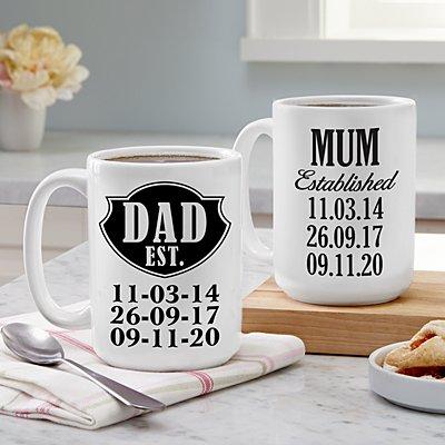 We're Established Mug Set
