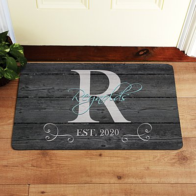 Family Initial & Name Doormat