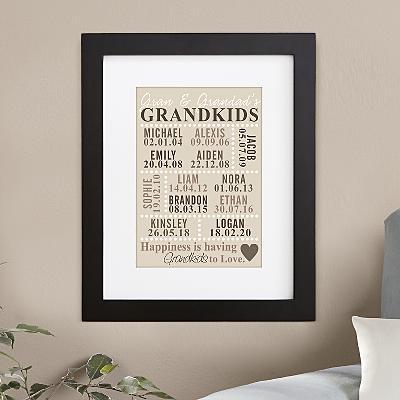 Our Grandkids Wall Art