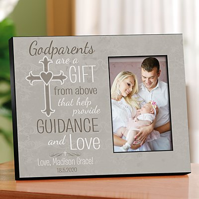 Godparents Cross Frame