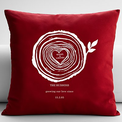 Family Rings Cushion