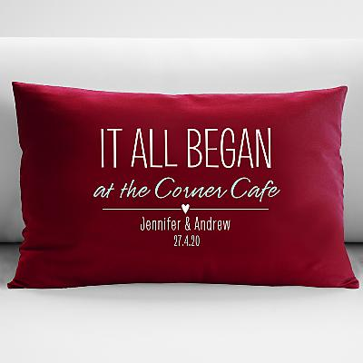Where It All Began Cushion