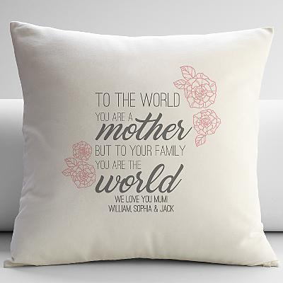 You Are the World Cushion