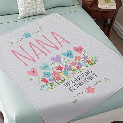Heart Garden Plush Blanket