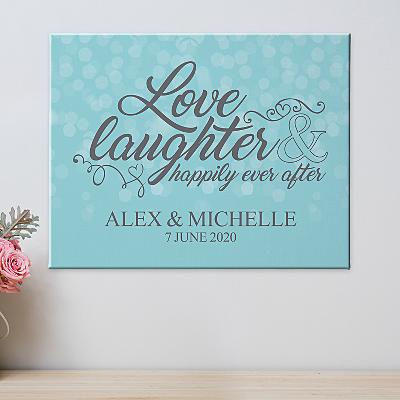 Love & Laughter Canvas