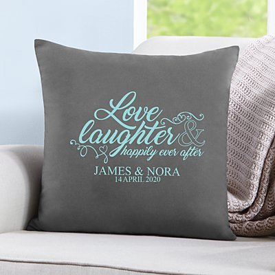 Love & Laughter Sofa Cushion