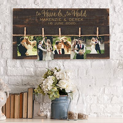 To Have & To Hold Wood Pallet Wall Art