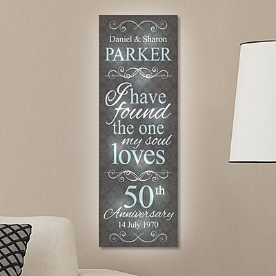 TwinkleBright® LED I Have Found the One Canvas