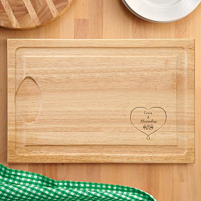 Together Forever Wooden Cutting Board