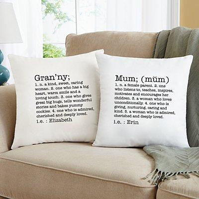 Define Her Sofa Cushion