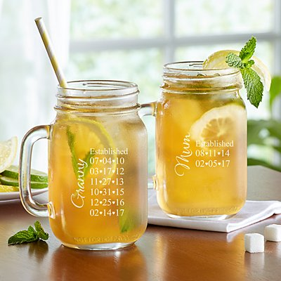 Established Mason Jar