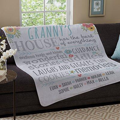 Favourite Memories Plush Blanket