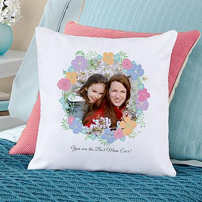 Floral Photo Cushion