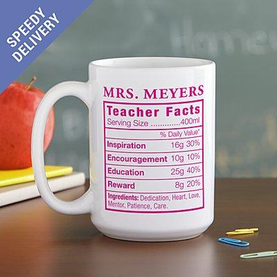 Teacher Facts Mug