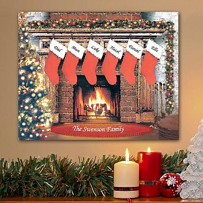 Christmastime Canvas