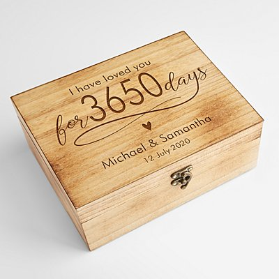 Counting the Days Memento Box