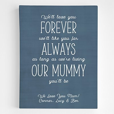 Mummy You Will Be Canvas Art