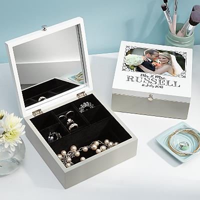 Our Special Day Photo Jewellery Box
