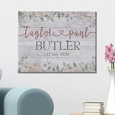 Together in Love Canvas