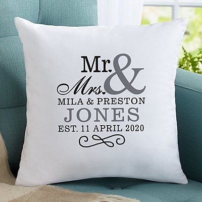 Happy Couple Sofa Cushion