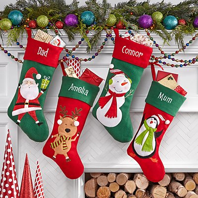 Christmas Character Stocking