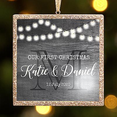 TwinkleBright® LED Rustic Wedding Bauble