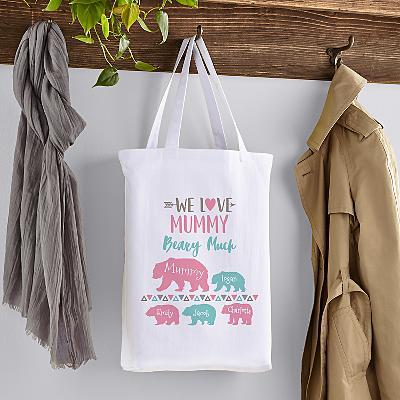 Love Her Beary Mug Tote Bag