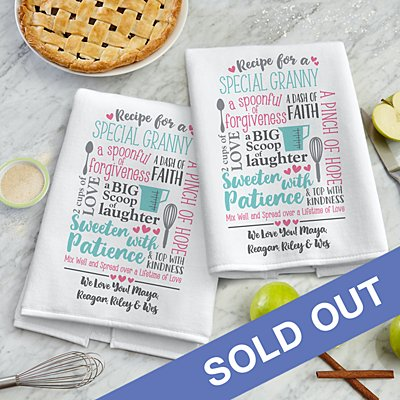 Recipe for a Special Someone Tea Towel