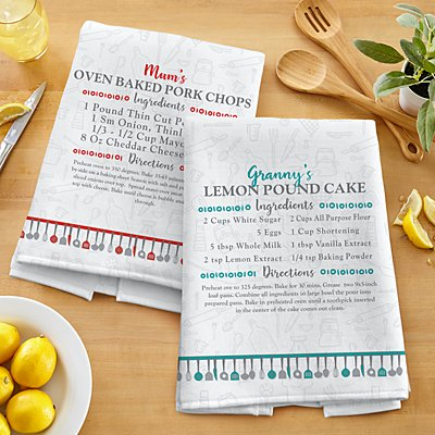 Your Family Recipe Tea Towel