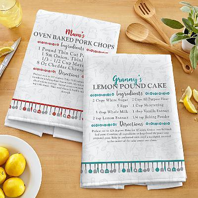 Your Family Recipe Tea Towel