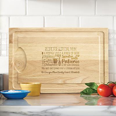 Recipe for a Special Someone Wooden Cutting Board