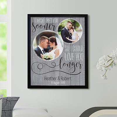 Love You Longer Photo Canvas