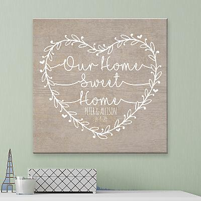 Our Home Sweet Home Canvas