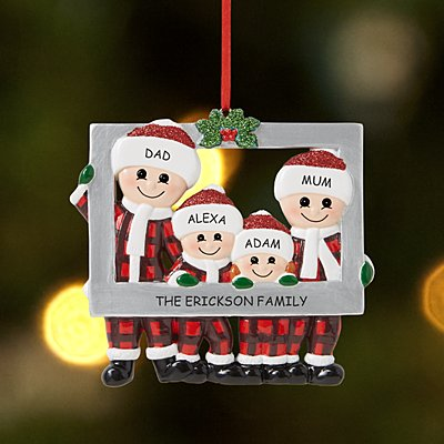 Picture Perfect Family Bauble