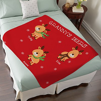Little Deers Plush Blanket