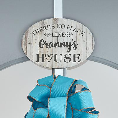 Our Favourite Place Wreath Holder with Plaque