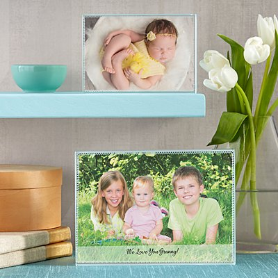 Picture Perfect Photo Glass Block