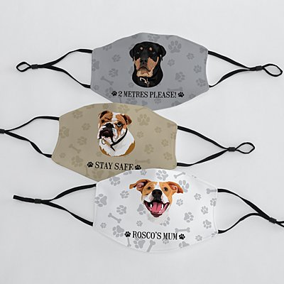 Dog Breed Adult Face Mask