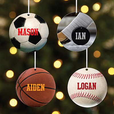 All Star Sports Round Bauble