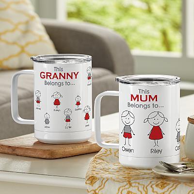 Family Belonging Insulated Coffee Mug