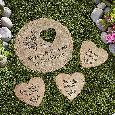 In Our Hearts Sympathy Stepping Stones