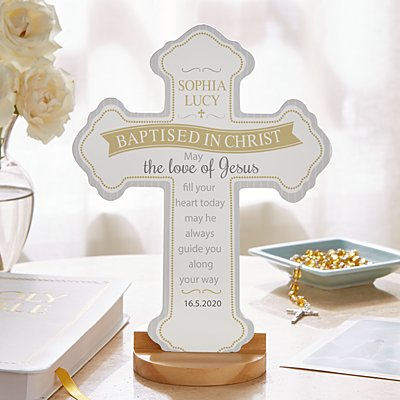 Sacrament Blessings Keepsake Cross