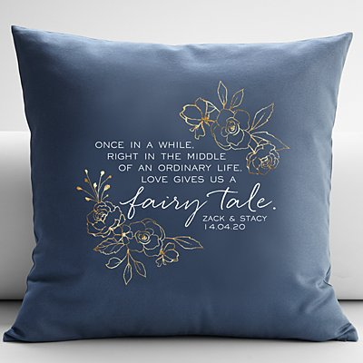 Love Gave Us a Fairytale Cushion
