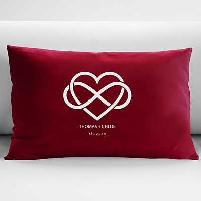Our Love is Infinite Cushion