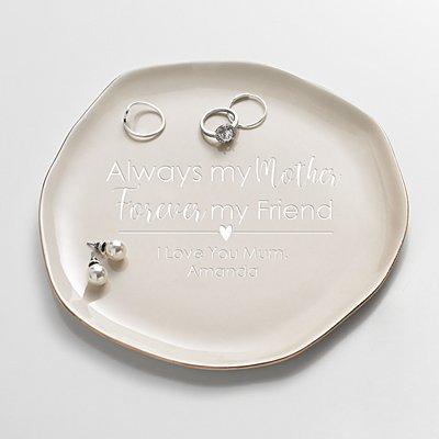 Forever My Friend Ceramic Trinket Tray