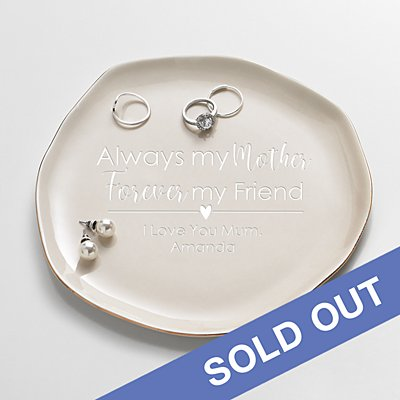 Forever My Friend Ceramic Trinket Tray